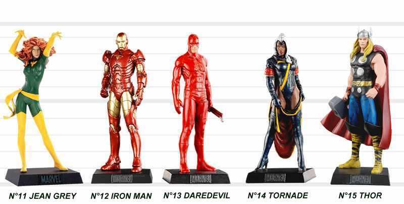 Super Héros des films Marvel : la collection de figurine dédiée aux héros
